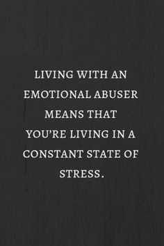 living with an emotional abuser like NNB, means that you're living in a constant state of stress. Great Quotes, Me Quotes, Inspirational Quotes, Motivational Quotes, Faith Quotes, Affirmations, Under Your Spell, Narcissistic Behavior, Narcissistic Husband