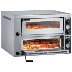 Lincat's contribution to High Speed Ventless Cooking: perfect for fast turn-around, low protein foods. Electric Pizza Oven, Pizza Oven For Sale, Kitchen Supply Store, Bread Oven, Kitchen Machine, Frozen Pizza, Catering Equipment, Oven Range, Restaurant