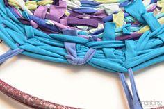 Hula hoop rug step 12
