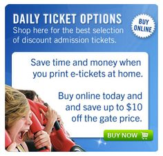 http://cheapthemeparks.com/six-flags-discount-tickets/ is selling Six Flag discount tickets or Six Flags Magic Mountain tickets. Tickets are discount at 41% compare to the gate price. Their Cheap Six Flags Tickets are selling at $39.99 for 1 day admission tickets. Enjoy!