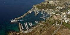 Mgarr Harbour Gozo Aerial View