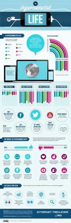 Segmentation - The Hyperconnected Life [Infographic] : MarketingProfs Article
