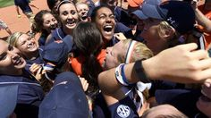 Congratulations AU Softball on your first ever WCWS! Look out Oklahoma---Here we come ! Auburn Softball, College World Series, Auburn University, Auburn Tigers, Alma Mater, My Happy Place, Oklahoma, Athlete, Congratulations