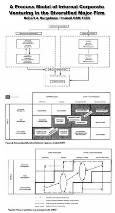 Internal Corporate Venruring Process Model - Burgelman