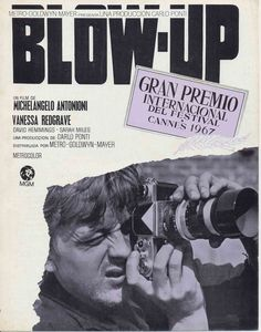 Blow Up (Spanish) 27x40 Movie Poster (1966)