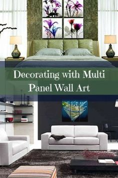 Multi Panel Wall Art Is Super Popular Right Now. It Is Trendy Because You