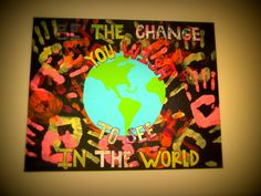 Change in the world Canvas by LifesAcanvas on Etsy, $45.00