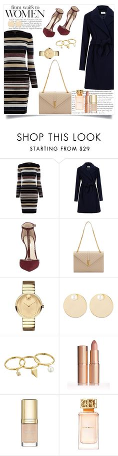 """""""Sem título #364"""" by caroolnunees ❤ liked on Polyvore featuring mode, Envi, Warehouse, Louise et Cie, Yves Saint Laurent, Movado, Auden, Rebecca Minkoff, Dolce&Gabbana et Tory Burch"""