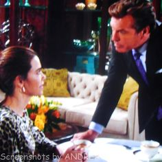 Jack tells Victoria that Jabot always knows when the other company has an edge,....but that he knows how to keep Jabot on top!