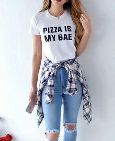 #pizza #calçarasgada #cropped #inspiração #xadrez