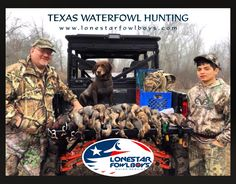 Duck Hunting Texas Style with the Lone Star Fowl Boys -Waterfowl Guide Service www.lonestarfowlboys.com