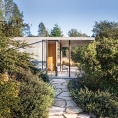 Napa Valley House by Steven Harris Architecture (Architect: Eliot Lee); landscaping by Eric and Silvina Blasen