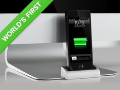 iPhone Dock for iMac & Apple Displays – The OCDock ™ by OCDesk, via Kickstarter.