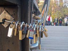 The Love Locks of Italy- Accademia Bridge, Venice