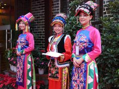 Traditional dress from Schwan Provinces during festivals