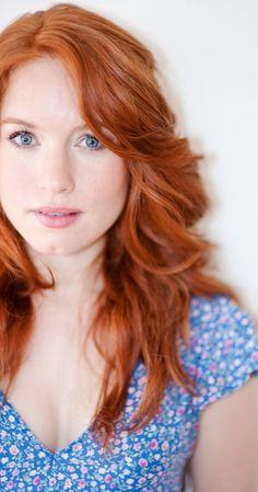 Maria Thayer. Red hair.  #gingerhair  #redheadgirls