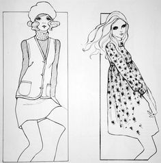 bobby hillson fashion illustration - Pesquisa Google