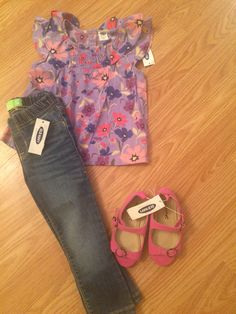 Floral and denim #ootf