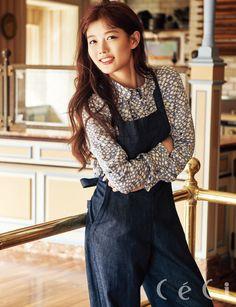 Kim Yoo Jung - Céci Magazine January Issue '17