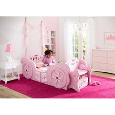 Details about Bed Toddler Disney Canopy Children Delta ...