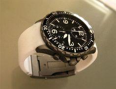 Sinn 757 'Polar'. Fully tegimented, Argon filled instrument chronograph.