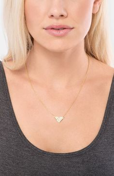 gorjana 'Zion' Cutout Pendant Necklace | Nordstrom
