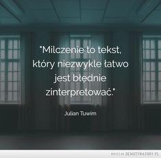 Milczenie...