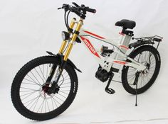 Cool e Motorcycle Style Mustang Mountain E bike 48V 1000W E Bike with 48V 18Ah Li ion Battery and Zoom Triple Crown Fork-in Electric Bicycle from Sports & Entertainment on Aliexpress.com   Alibaba Group