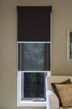 Custom Window Furnishings for Beautiful Spaces Windows, Roller Blinds, Custom Windows, Wall Color Schemes, Window Treatments, Beautiful Space, Home, Furnishings, Home Decor