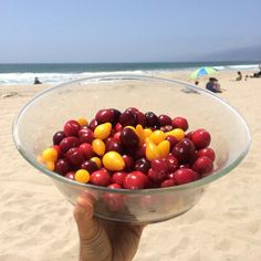 Cherries & yellow pear tomatoes combo