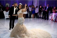 Exclusive Photos From Kandi & Todd's Wedding | Nigerian Wedding