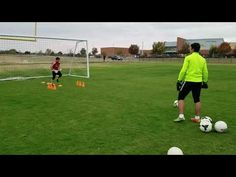 Young Goalkeeper J. Sebastian Lutin, eleven year old in personal training session with Coach Roel Martinez. Session performed November of - Warming up . Goalkeeper Drills, Goalkeeper Training, Soccer Training, Soccer Practice Drills, Football Drills, Soccer Goalie, Play Soccer, Soccer Sports, Soccer Tips