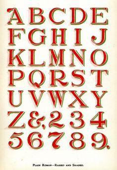 Sign Painter's Alphabet