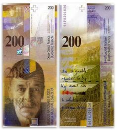 Swiss Banknote (2)