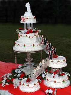 58 Best Fountain Wedding Cakes Images Fountain Cake Fountain