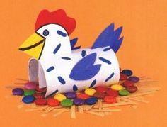 tuto en photos poulette de Pâques Chezlorry