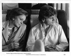 "Geraldine Page & Mikhail Baryshnikov in ""White Nights"""