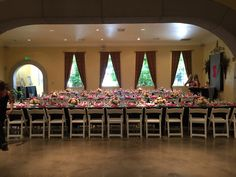 Beautiful kings seating setup for a bridal shower Winery Bridal Showers, Beautiful