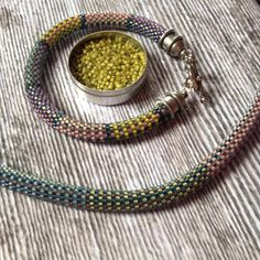 We on Facebook: http://ift.tt/2jRHDjd Beautiful Beaded Jewelry #underbeads by @underbeads Check our #AmazingPhoto WEBSTA: The pagoda clasp is a hit with my friends as are these spring colors. Fabric weave no 6 (finished) & no 7 (in process). The Toho Aiko beads deliver the colors :). #renegadecraftfairchicago #beadworkdesigner #beadwork #beadcrochetpattern #beadcrochet #etsyshop #etsyseller #beadcrochetdesigner #artjewelry #beading #designerpatterns #oneofakind #jewelrykits…
