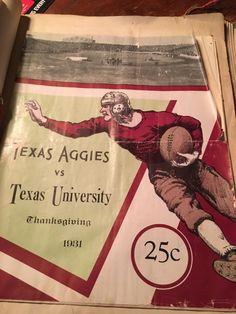 Aggies/Longhorns football program, 1931