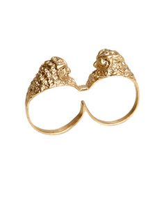 owl knuckle ring