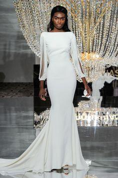 Wedding dress by Pronovias