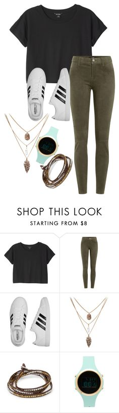 """""""casuhope.0.17"""" by joannachavez8 on Polyvore featuring Monki, J Brand, adidas, Forever 21 and Aéropostale"""