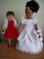 "Winter Wedding Dreams -18"" doll Image Intense - Free Original Patterns - Crochetville http://www.crochetville.com/community/topic/131264-winter-wedding-dreams-18-doll-image-intense/?hl=doll"