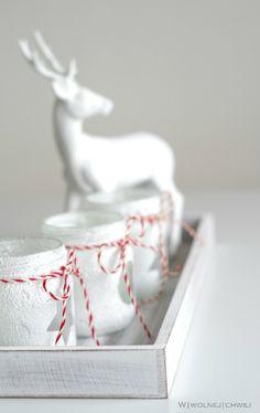DIY! Świąteczne świeczniki