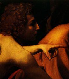 1600 Le Caravage Sacrifice d Isaac détail