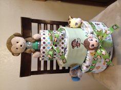 Diaper cakes - I like to make.