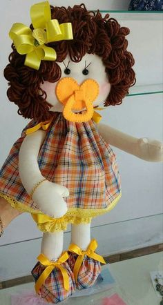Com - Hair Beauty Doll Sewing Patterns, Sewing Dolls, Doll Clothes Patterns, Felt Crafts Dolls, My Child Doll, Doll Tutorial, Doll Hair, Soft Dolls, Diy Doll
