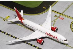 Gemini Jets Avianca Boeing Dreamliner Registration: SPECIAL ORDER - Item usually ships in days. Length Wingspan Each model is very collectible and all reg Boeing 787 9 Dreamliner, Boeing 787 8, Diecast Model Aircraft, Diecast Models, Jumbo Jet, Passenger Aircraft, Virgin Atlantic, Model Airplanes, Gemini