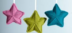 Pure Wool Entwine Christmas Stars Project